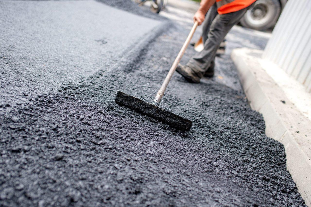 produção do asfalto frio