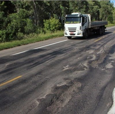 rodovias de má qualidade